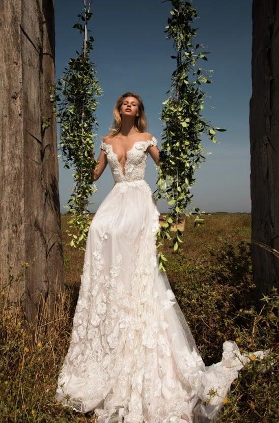 65bb1205071c Rozprávkové svadobné šaty v A-čkovom štýle z jemne ružovej organzi