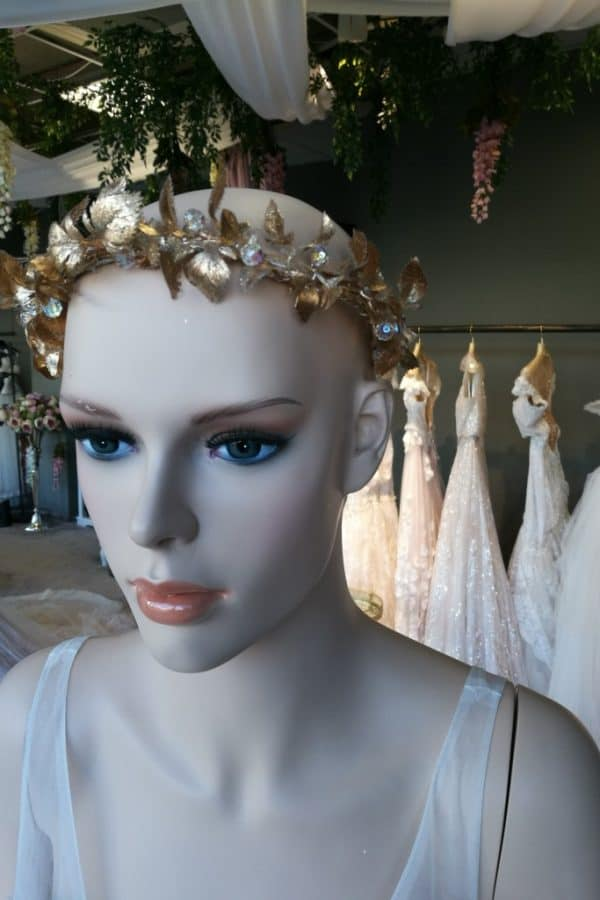 Romantické kvetinové čelenky