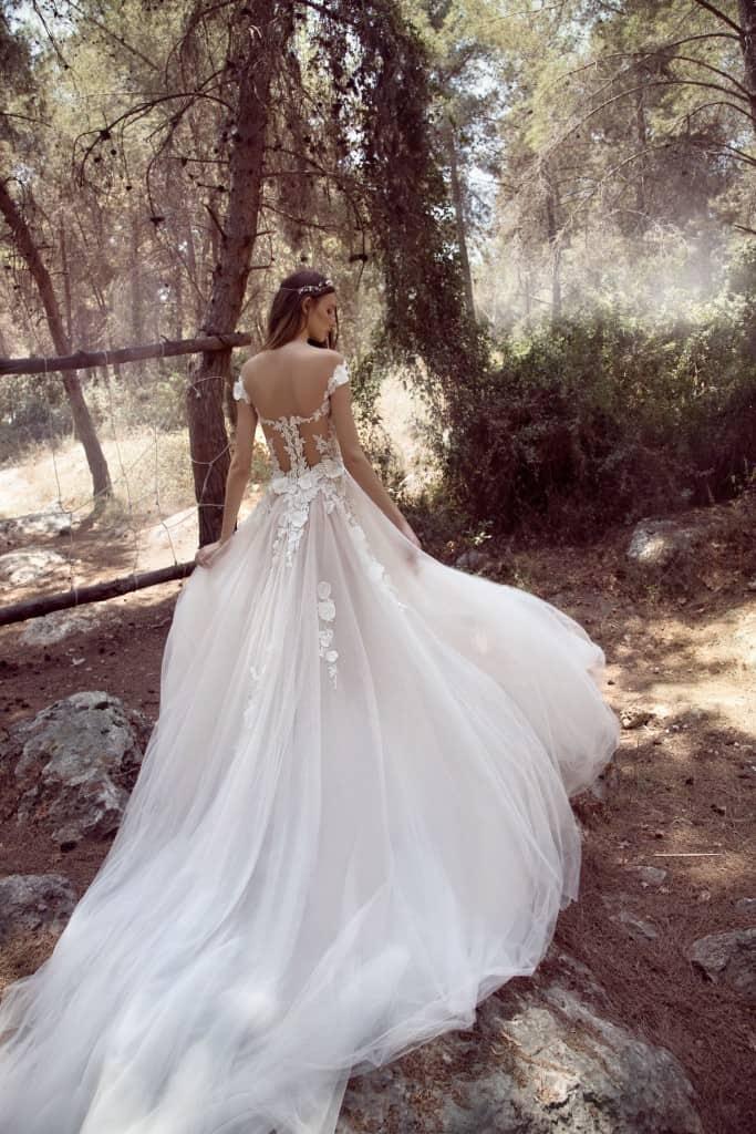 5d02f7a86bfa Nádherné svadobné šaty v bálovom štýle s ružovou sukňou