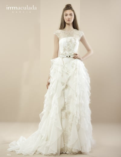Bohémske svadobné šaty - Inmaculada Garcia - Aika