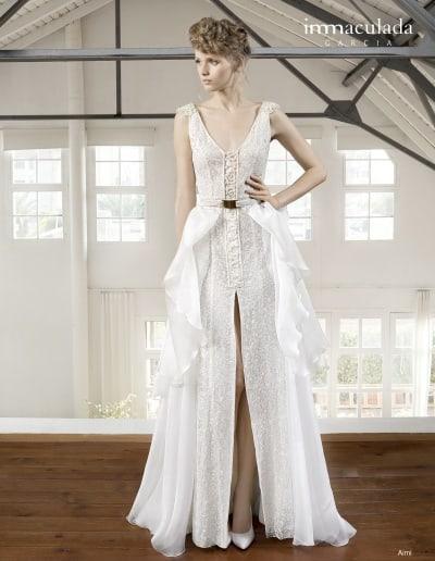 Bohémske svadobné šaty - Inmaculada Garcia - Aimi