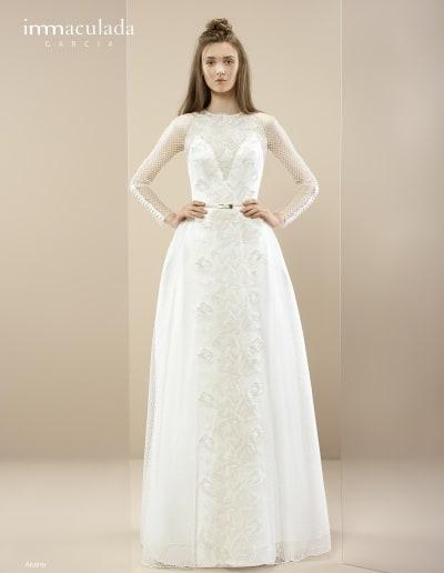 Bohémske svadobné šaty - Inmaculada Garcia - Akane