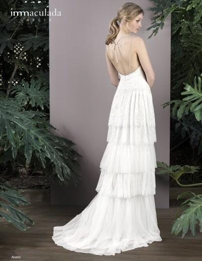 Bohémske svadobné šaty - Inmaculada Garcia - Akemi