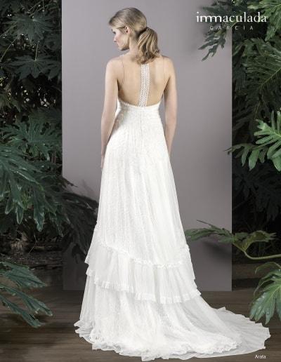 Bohémske svadobné šaty - Inmaculada Garcia - Arata