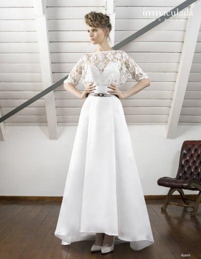 Bohémske svadobné šaty - Inmaculada Garcia - Ayami