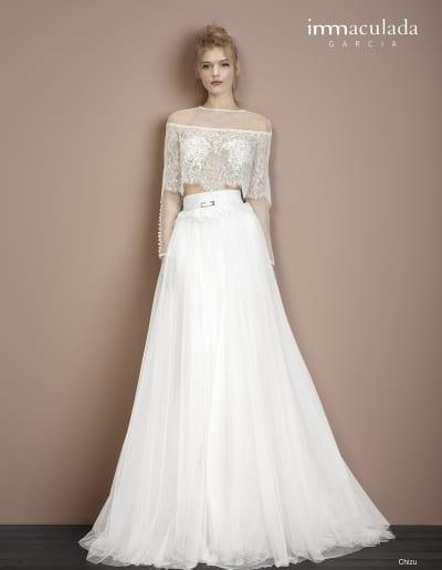 Bohémske svadobné šaty - Inmaculada Garcia - Chizu