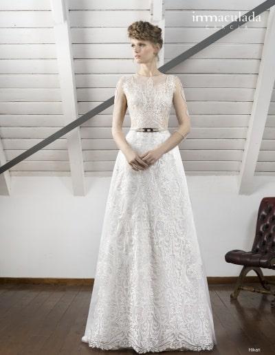 Bohémske svadobné šaty - Inmaculada Garcia - Hikari
