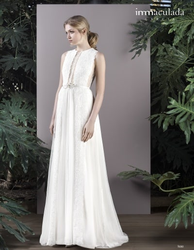 Bohémske svadobné šaty - Inmaculada Garcia - Isao