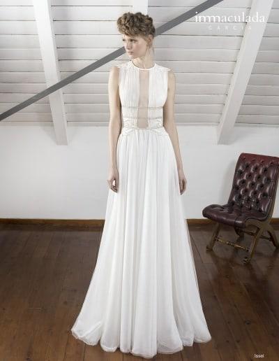 Bohémske svadobné šaty - Inmaculada Garcia - Issei