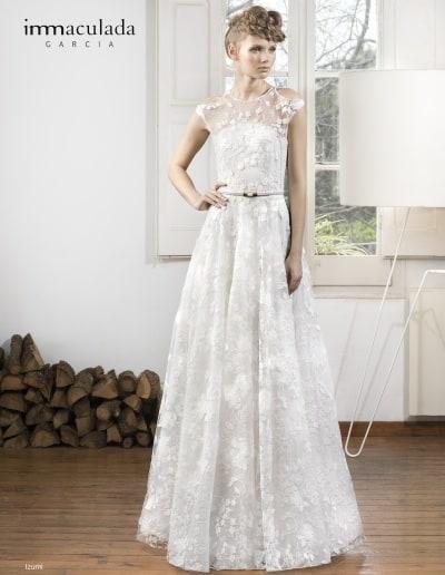 Bohémske svadobné šaty - Inmaculada Garcia - Izumi