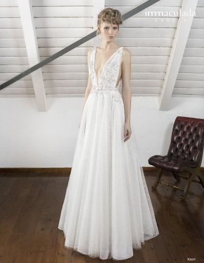 Bohémske svadobné šaty - Inmaculada Garcia - Kaori