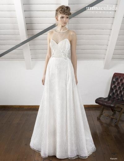 Bohémske svadobné šaty - Inmaculada Garcia - Kazumi