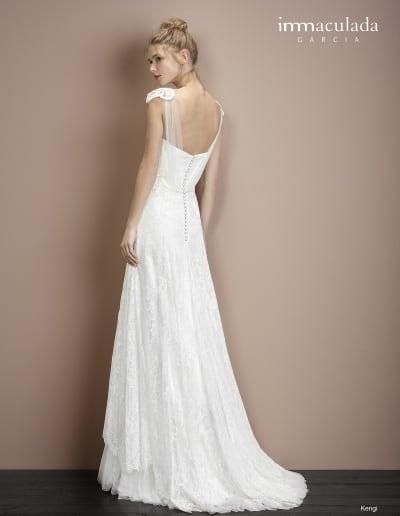 Bohémske svadobné šaty - Inmaculada Garcia - Kengi