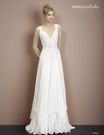 Bohémske svadobné šaty - Inmaculada Garcia - Kokoro