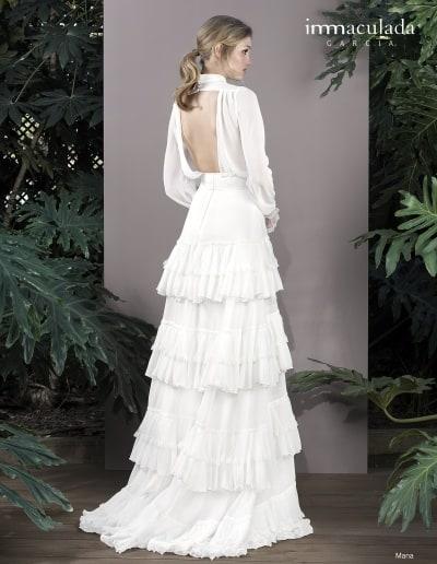 Bohémske svadobné šaty - Inmaculada Garcia - Mana