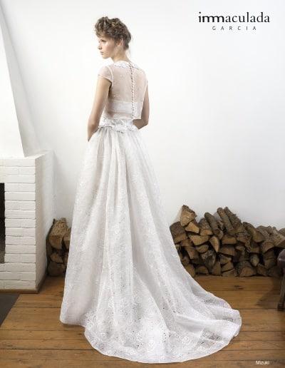 Bohémske svadobné šaty - Inmaculada Garcia - Mizuki