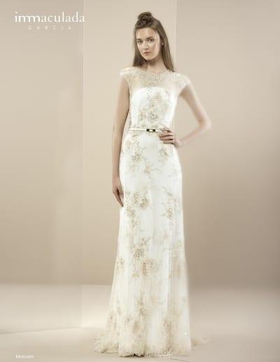 Bohémske svadobné šaty - Inmaculada Garcia - Mokuren