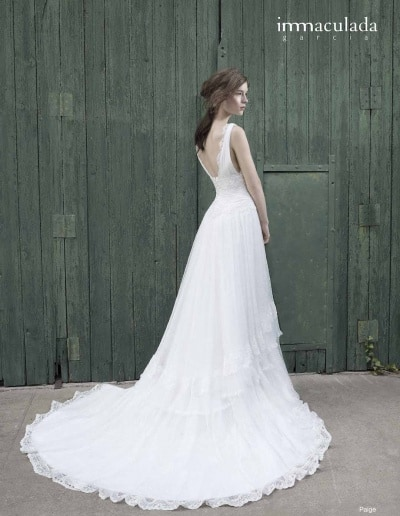 Bohémske svadobné šaty - Inmaculada Garcia - Paige