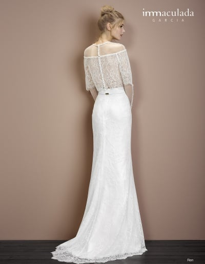 Bohémske svadobné šaty - Inmaculada Garcia - Ren