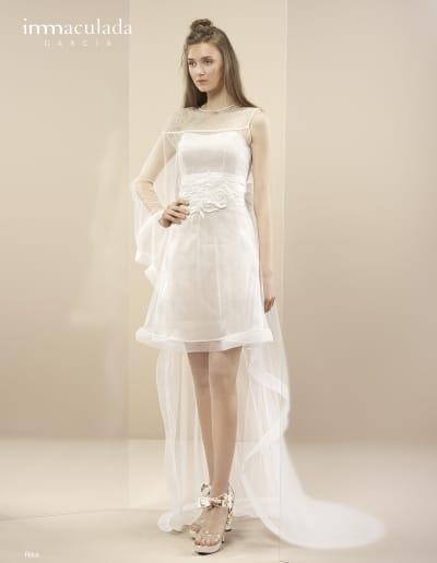Bohémske svadobné šaty - Inmaculada Garcia - Rika