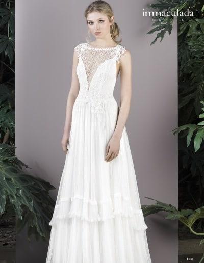 Bohémske svadobné šaty - Inmaculada Garcia - Ruri
