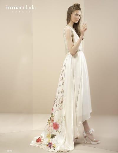 Bohémske svadobné šaty - Inmaculada Garcia - Serika
