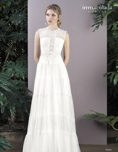 Bohémske svadobné šaty - Inmaculada Garcia - Shizen