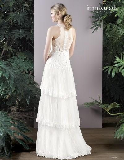 Bohémske svadobné šaty - Inmaculada Garcia - Sorato