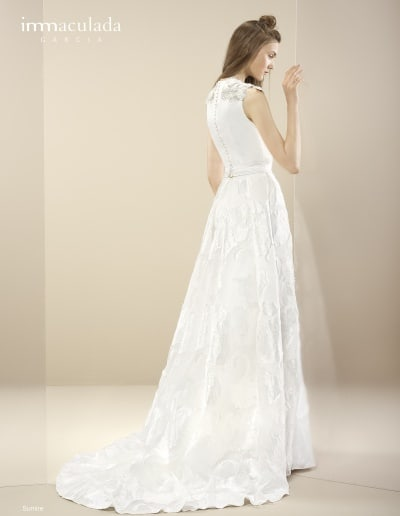 Bohémske svadobné šaty - Inmaculada Garcia - Sumire