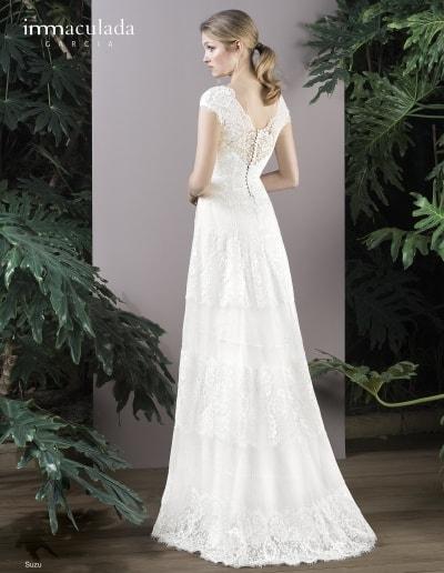 Bohémske svadobné šaty - Inmaculada Garcia - Suzu