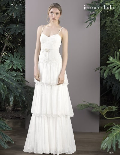 Bohémske svadobné šaty - Inmaculada Garcia - Tetsu