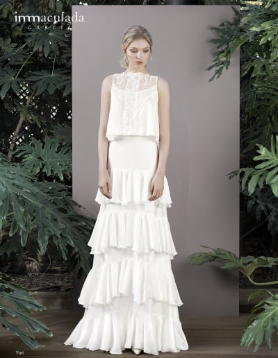 Bohémske svadobné šaty - Inmaculada Garcia - Yuri