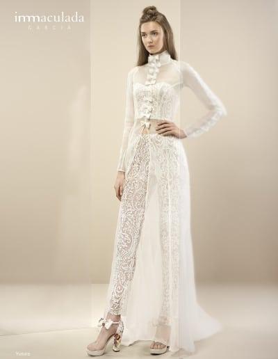 Bohémske svadobné šaty - Inmaculada Garcia - Yusura