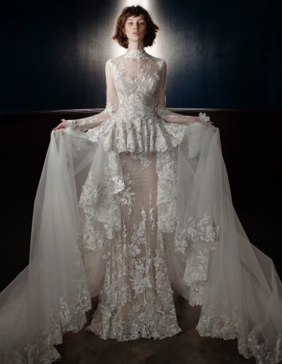 Galia Lahav Couture - Victorian Affinity - Tesla + Tesla Train