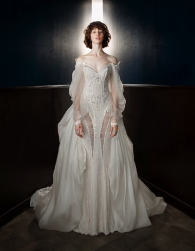 Galia Lahav Couture - Victorian Affinity - Thelma with Ossie Train