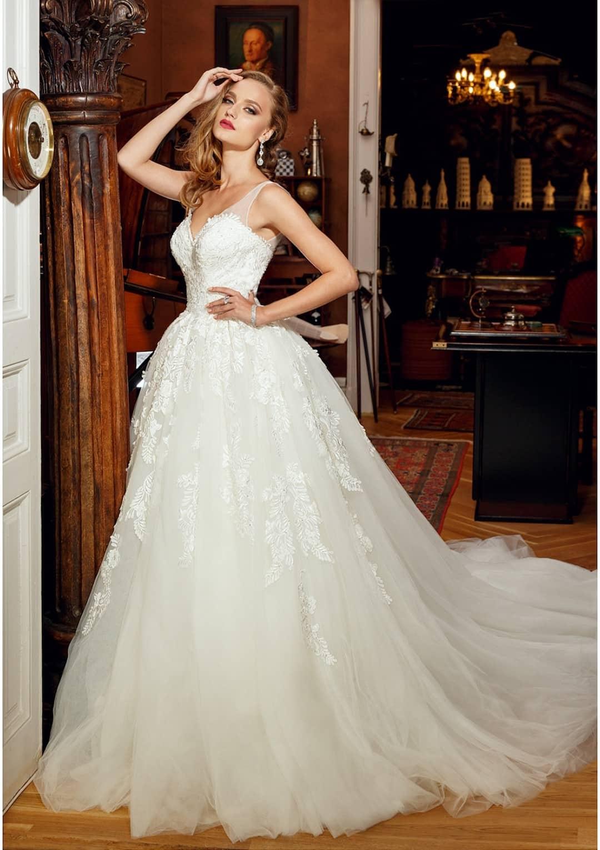 aa62b5148f9b Luxusné svadobné šaty od Bien Savvy jedine v Salon Isabell