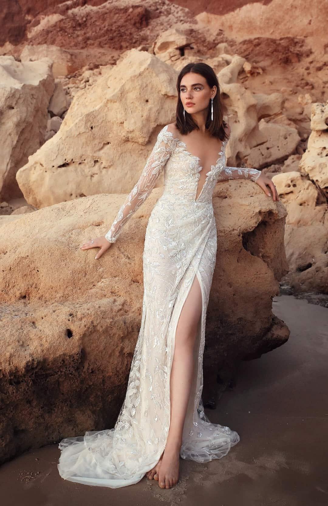 Exkluzív esküvői ruhák - G-410