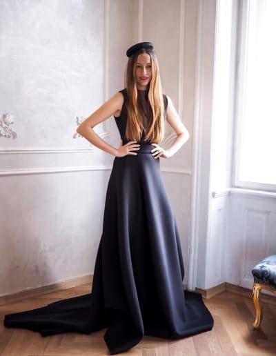 Spoločenské šaty - Katka Vavrova