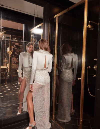 Galia Lahav Couture - Fancy White - Sampaio-back