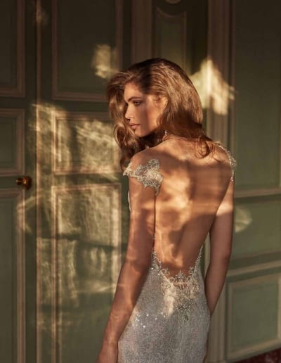 Galia Lahav Couture - Fancy White - Ella-back-mid