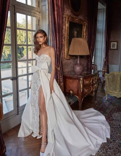 Galia Lahav Couture - Fancy White - Joanne-with-skirt