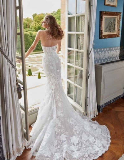 Galia Lahav Couture - Fancy White - Judy-back