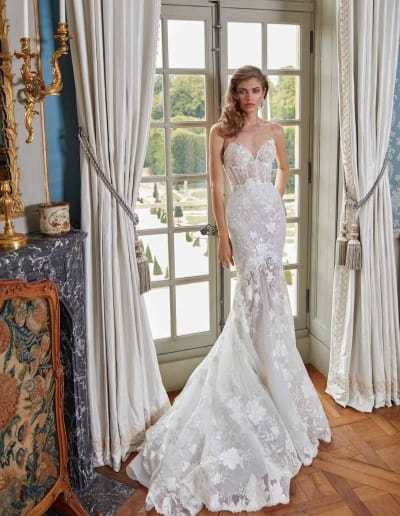Galia Lahav Couture - Fancy White - Judy-front