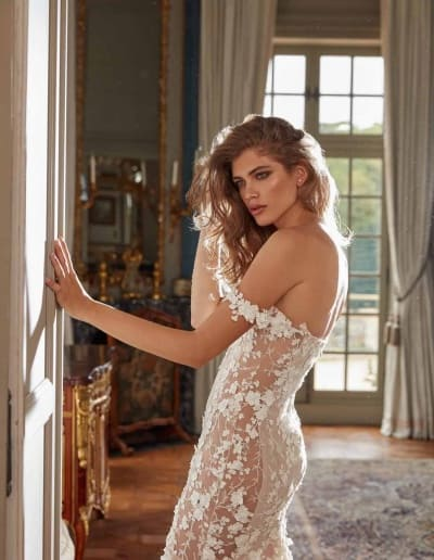 Galia Lahav Couture - Fancy White - Maya-side