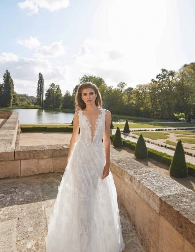 Galia Lahav Couture - Fancy White - Priyanka-front