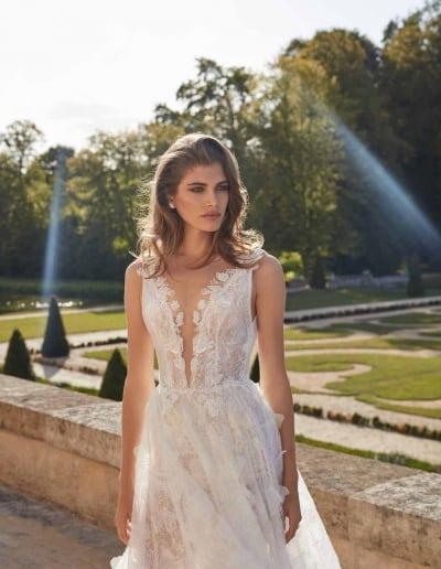 Galia Lahav Couture - Fancy White - Priyanka-mid