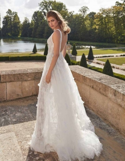 Galia Lahav Couture - Fancy White - Priyanka-side