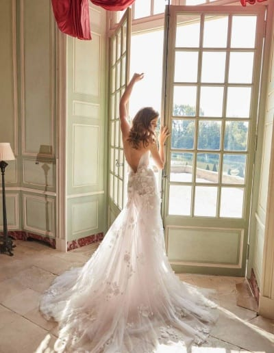 Galia Lahav Couture - Fancy White - Ruth-back