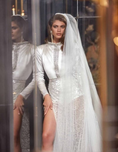 Galia Lahav Couture - Fancy White - Sampaio-Mid