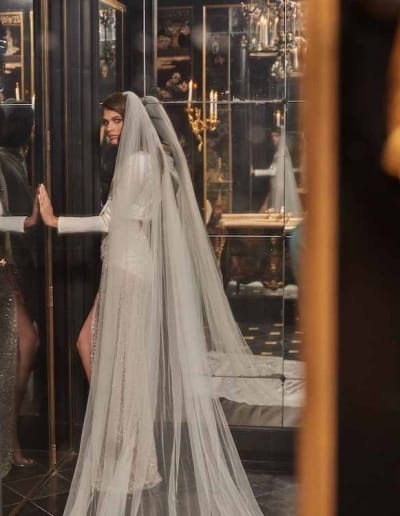 Galia Lahav Couture - Fancy White - Sampaio-with-veil